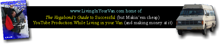 Living In Your Van