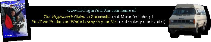 Living In Your Van
